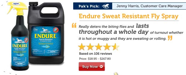 Endure Sweat Resistant Fly Spray