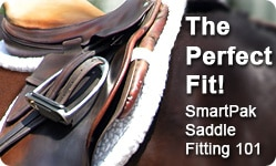 Get the Perfect Fit!  Read about Saddle Fitting