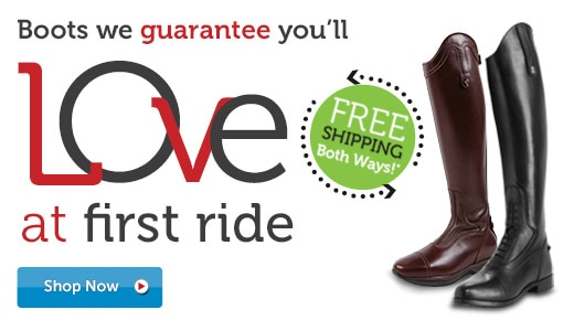 Boots we guarantee you'll love at first ride!