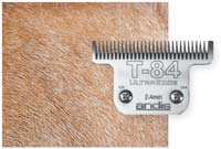 horse hair length using T-84 clipper blades
