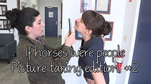 If horses were people - Picture Taking Edition, Part 2