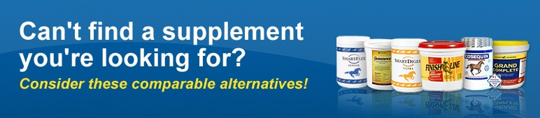 Can't find a supplement you're looking for? Consider these comparable alternatives!